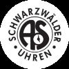 Anton Schneider cuckoo clock logo in black and white